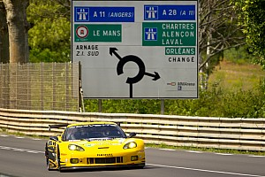Le Mans Corvette quickest at Le Mans Test Day in LM GTE