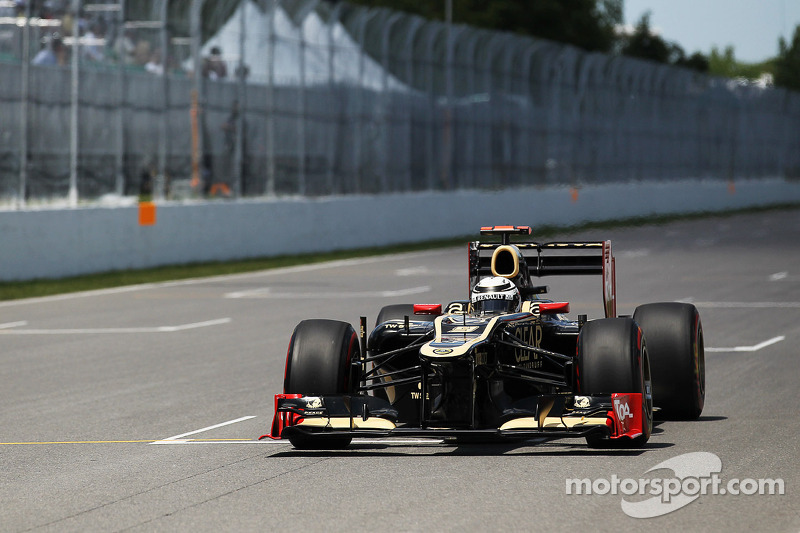 Bad news chasing Lotus team at present