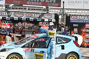 Other rally Marcus Gronholm wins Rallycross round 2 at Texas