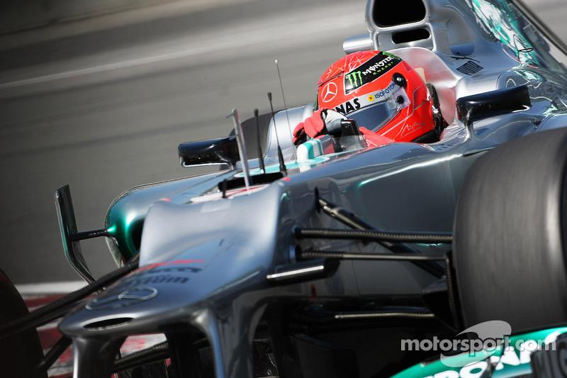 Schumacher's bad run mere 'fate' - Brawn
