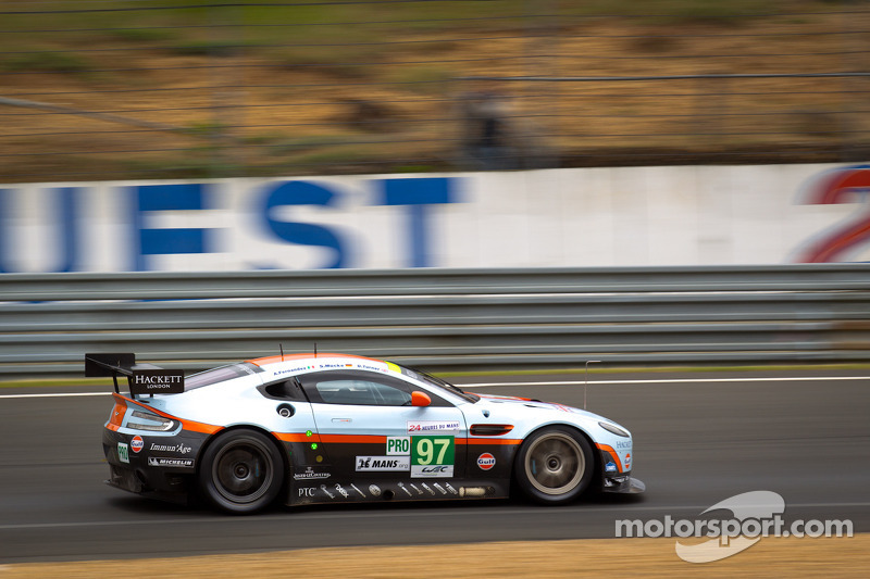 Aston Martin Racing embroiled in thrilling battle