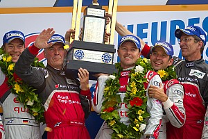Le Mans Drama in final hours but Audi emerges triumphant