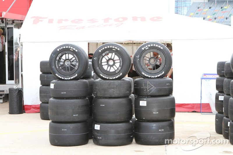 Iowa Speedway tire specs issued by Firestone