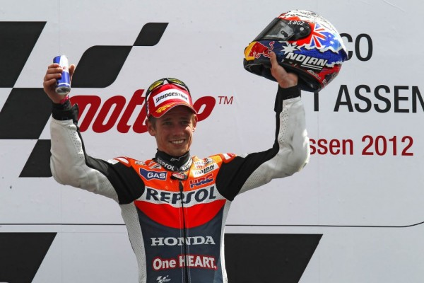Stoner takes Assen victory in action packed race