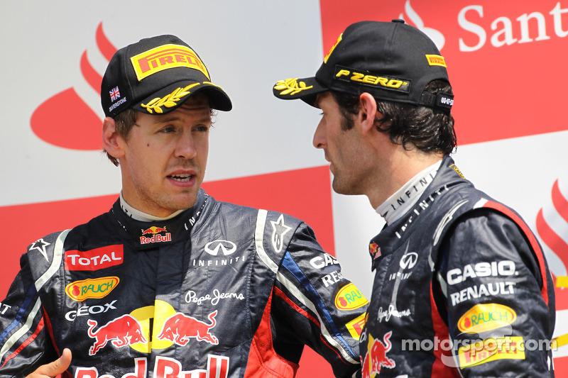 Vettel insists Webber not Red Bull favourite