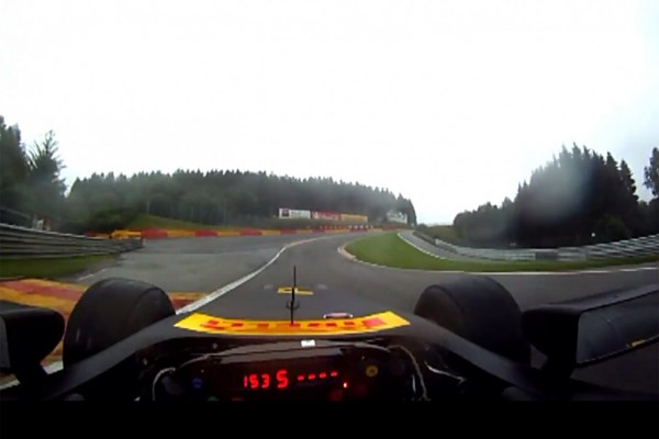 Do a Lap of Spa from an F1 Drivers Perspective - video