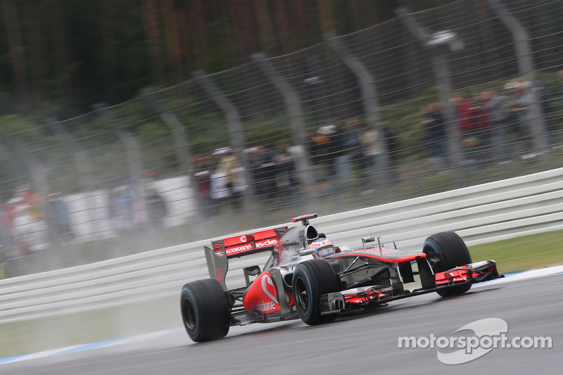 McLaren leads the way in German Grand Prix Friday pracitce