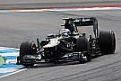 Kovalainen and Petrov gave their best in German GP