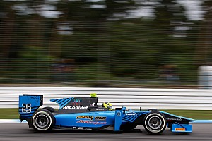 GP2 Race report Difficult Hungarian weekend for Ocean Racing in GP2
