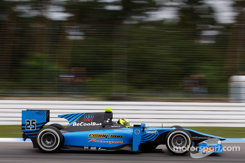 Difficult Hungarian weekend for Ocean Racing in GP2