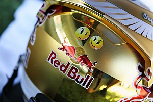 Formula 1 Special feature Sebastian Vettel's new gold helmet design