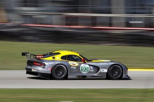ALMS Practice report Luhr sets fast lap in Mid-Ohio warmup; Viper shows improvement
