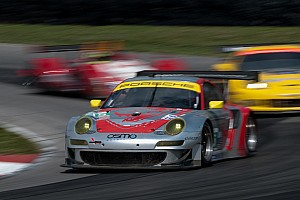 ALMS Race report Another Podium for the Lizards in GT at Mid-Ohio