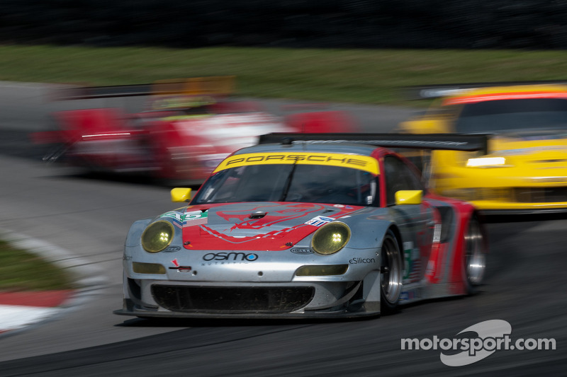 Another Podium for the Lizards in GT at Mid-Ohio