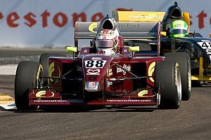 Pro Mazda Race report Sunday's rainy Star Mazda second race wreaks havoc at GP3R