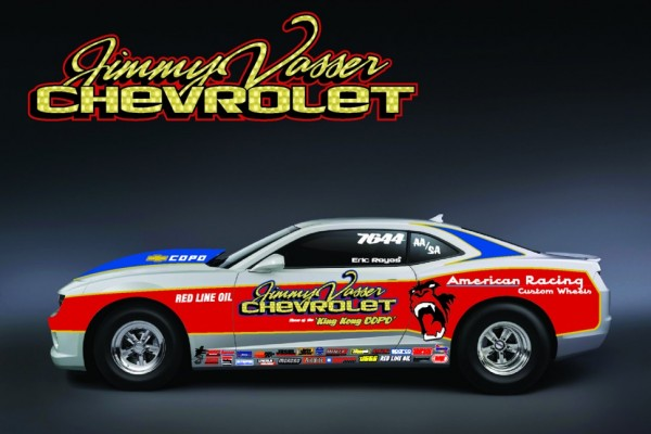 Vasser to enter COPO Camaro in Factory Stock Showdown in Indianapolis