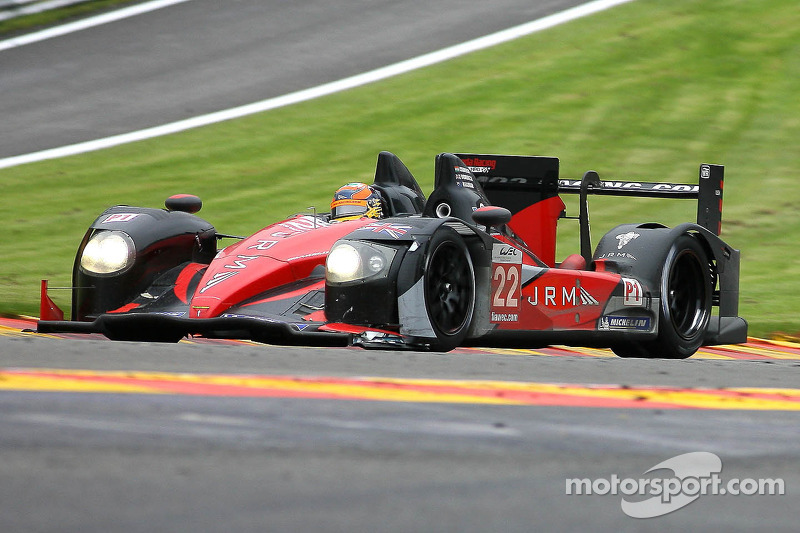 JRM Racing prepared for Silverstone with Aragon test