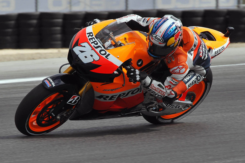 Pedrosa quickest on first day of Indy action