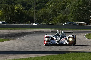 ALMS Practice report Luhr keeps Muscle Milk on top in warmup at Road America
