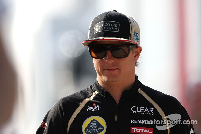 Lotus confident Raikkonen to stay