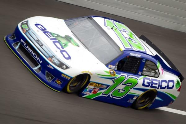 Rain puts Mears on pole at Bristol 