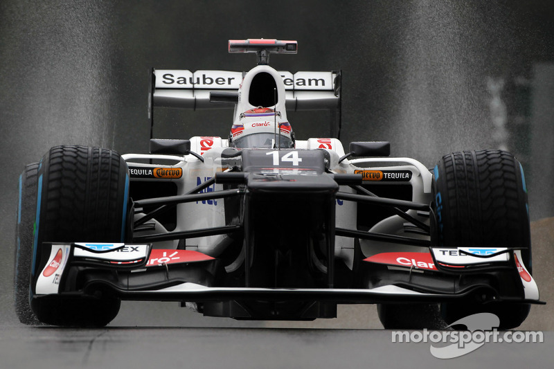 Pirelli wet tyres take centre stage at rainy Spa