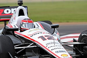 IndyCar Qualifying report Power wins his fifth pole of the season to lead Team Penske Baltimore qualifying effort