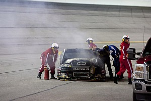 NASCAR Sprint Cup Race report Misfortune gets the better of Newman in Atlanta