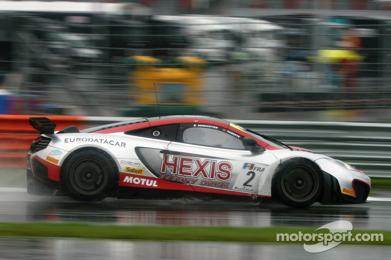 Hexis Racing McLaren reign in Russia
