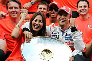 Button doesn't enjoy Monza podium