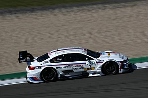 DTM Testing report BMW gives Martin and Leimer test drives