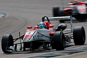 BF3 Race report Serralles takes win in chaotic race at Silverstone