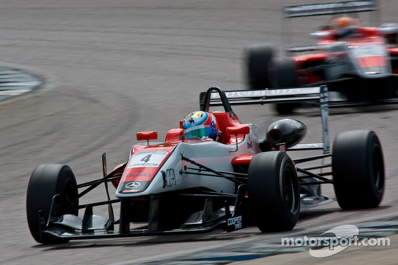 Serralles takes win in chaotic race at Silverstone