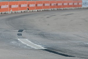 Track repair work begins for the 2013 Chevrolet Detroit Belle Isle Grand Prix