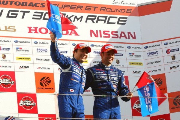 Matsuda and de Oliveira earn first win in 2012 at Fuji