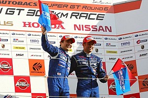 Super GT Race report Matsuda and de Oliveira earn first win in 2012 at Fuji