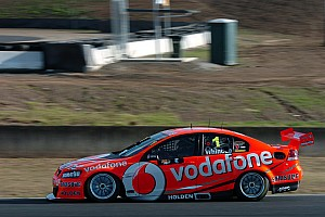 Supercars Practice report TeamVodafone make good progress through Sandown 500 practice