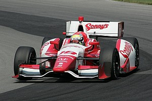 IndyCar Qualifying report Wilson upbeat despite tough day in Fontana