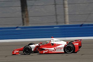 IndyCar Race report Wilson taken out during strong run in Fontana