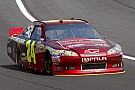 Jeff Gordon and his Chevrolet surprise pole winner at New Hampshire