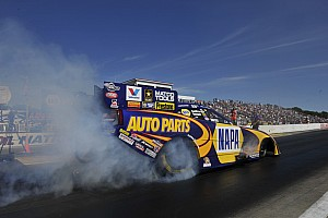 Capps loses in semifinals but extends points lead at Texas Motorplex