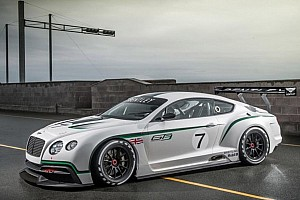 Bentley unveils stunning new FIA GT3 race car in paris