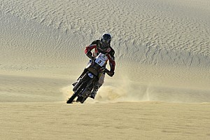 Cross-Country Rally Stage report Husqvarna Rallye Team wins stage 4 in Pharaons Rally