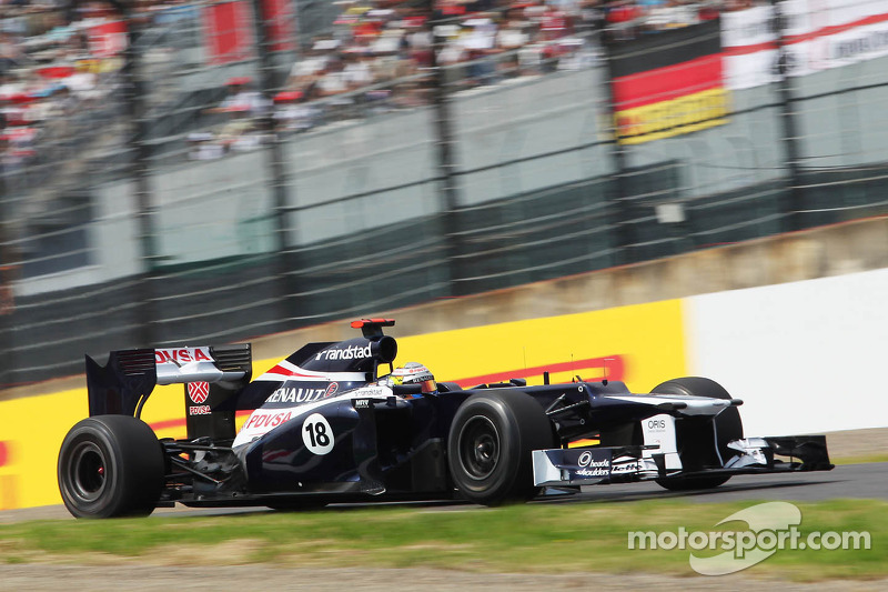 Bad start positions for Williams duo on Japanese GP