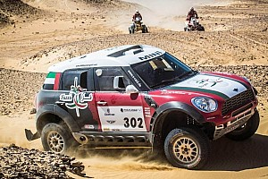Cross-Country Rally Stage report Al-Mutaiwei takes Pharaons win and Cross Country World Cup title