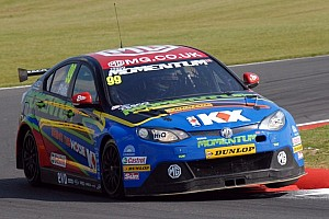 BTCC Race report Plato halves Shedden's lead after Silverstone double