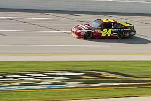 NASCAR Sprint Cup Race report Gordon takes second leads Chevrolet drivers at Talladega