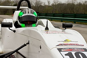 USF2000 Qualifying report La Rocca takes another pole in a short qualifying session at The Glen
