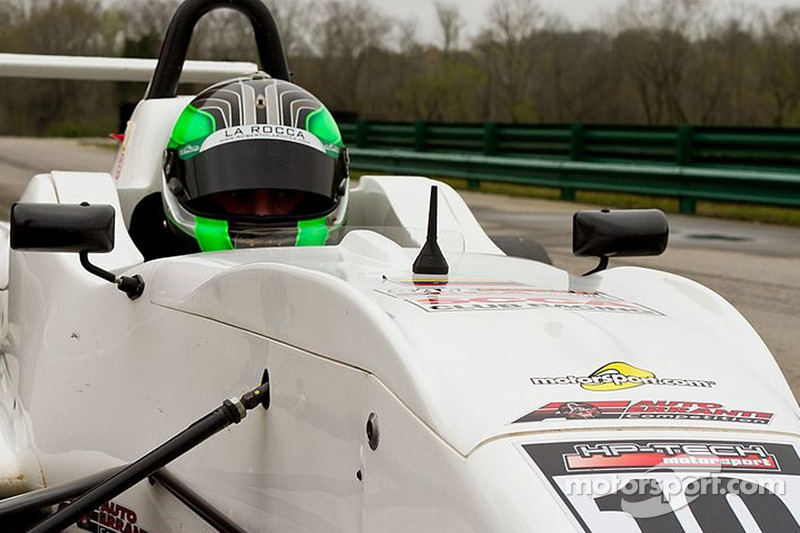 La Rocca takes another pole in a short qualifying session at The Glen