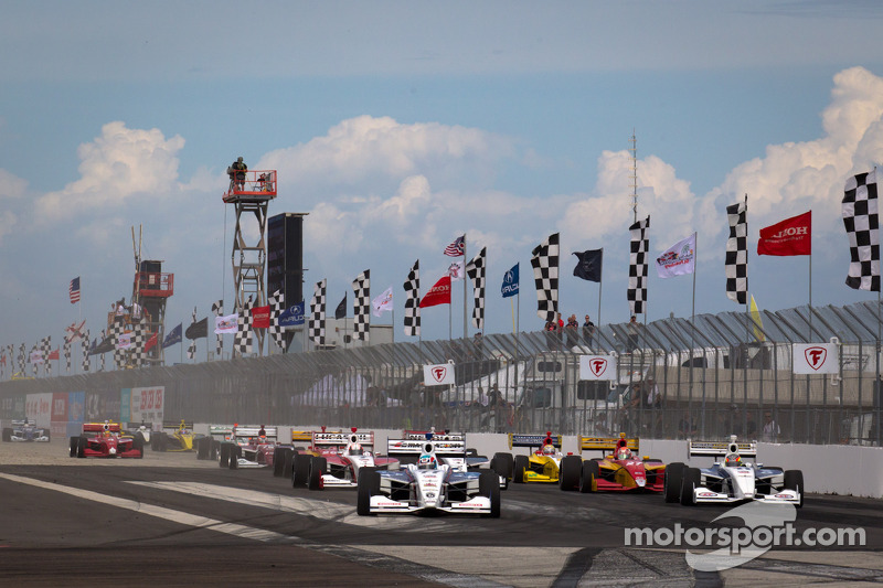 Three new venues on 2013 Indy Lights schedule